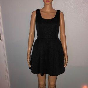 Vera Wang Black Sparkly Dress